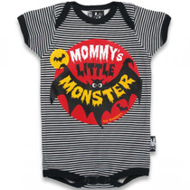 Six Bunnies Mummy's Little Monster Baby Onesie
