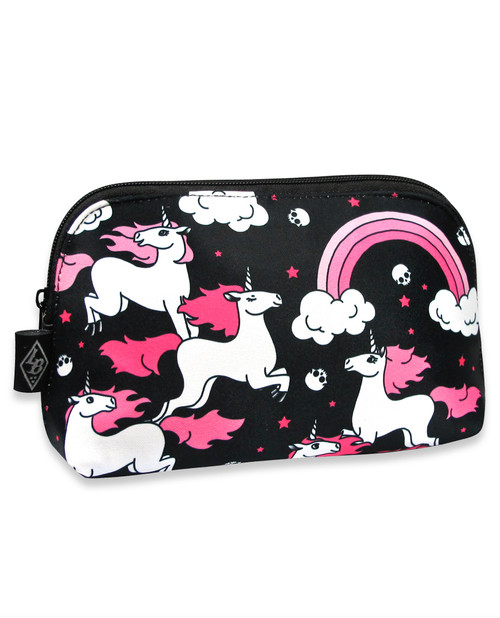Liquorbrand Rainbow Unicorn Wallet Bag - side