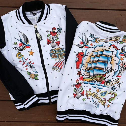 Six Bunnies Homeward Bound Varsity Jacket