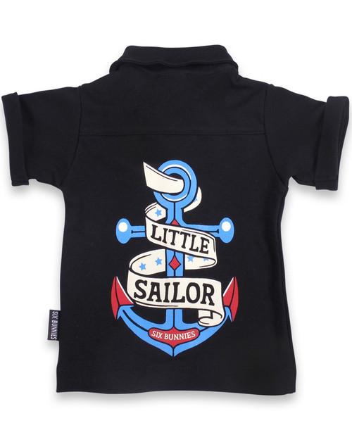 Little Sailor Baby Rockabilly Button Up Shirt