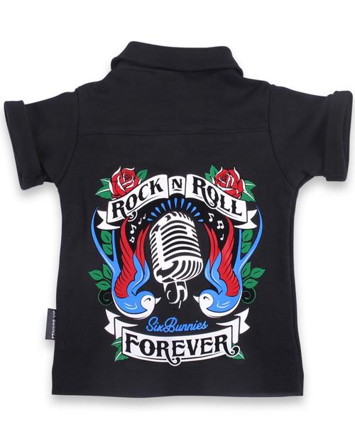 Rock n Roll Baby Rockabilly Button Up Shirt