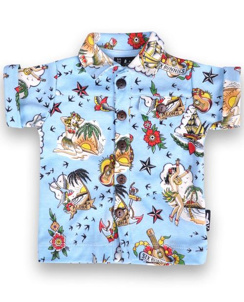 Aloha Baby Rockabilly Button Up Shirt