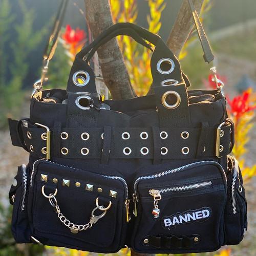 Banned Apparel Handcuff Bag - Black