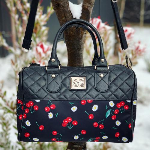 Liquorbrand Daisy Cherry Round Bag