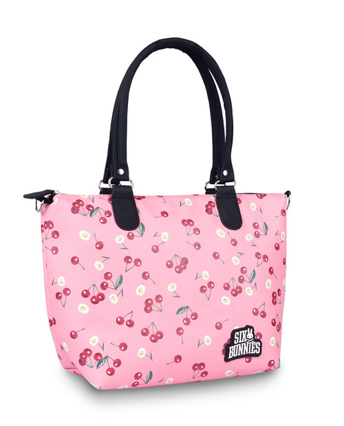 Six Bunnies Daisy Cherry Nappy Bag or Tote Handbag