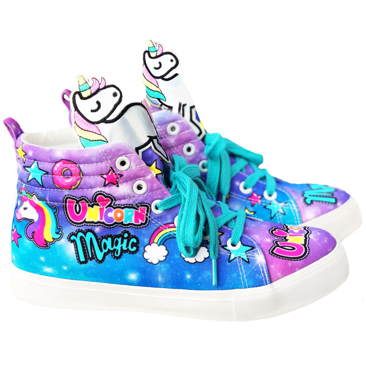 Unicorn Hi-Top Shoes by Madmia