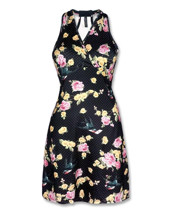 Liquorbrand Sparrow Monroe Halter Dress