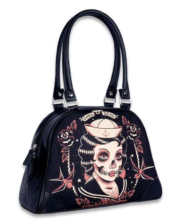 Liquorbrand Dark Seas Vegan Bowler Bag