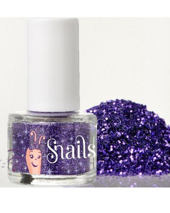 Snails Nail Glitter in Purple