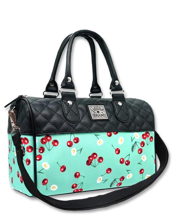 Liquorbrand Daisy Retro Retro Round Handbag