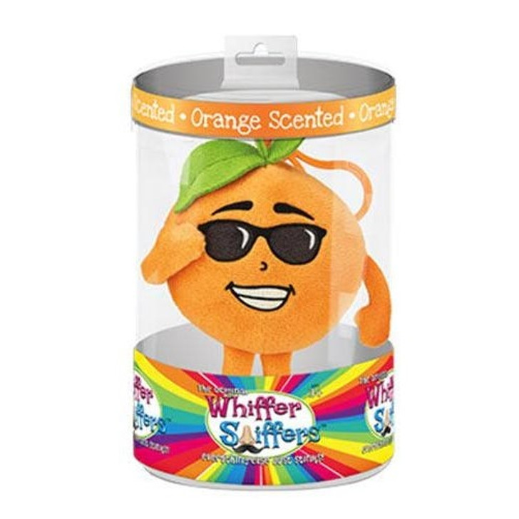 Whiffer Sniffers Sonny Orange Rolls Scented Backpack Clip