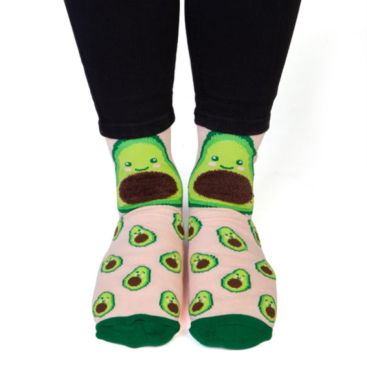 Avocado Kids and Adult Socks by Feet Speak