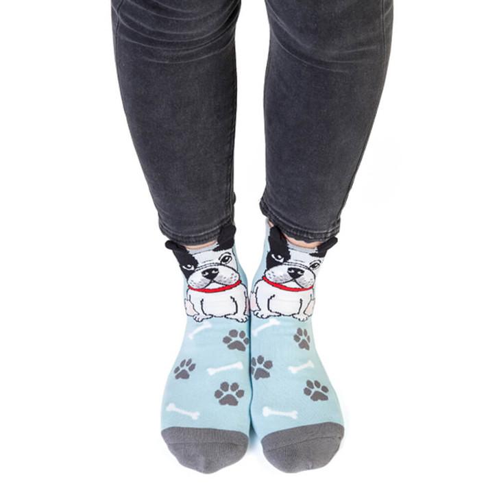 French Bulldog Kids and Adult Socks by Feet Speak