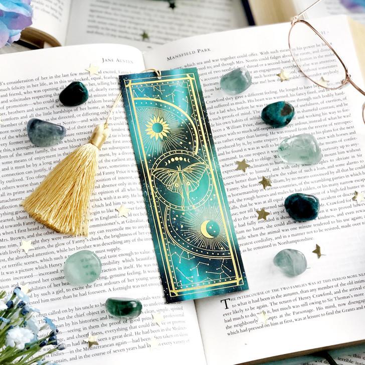 Luna Moth Celestial Bookmark