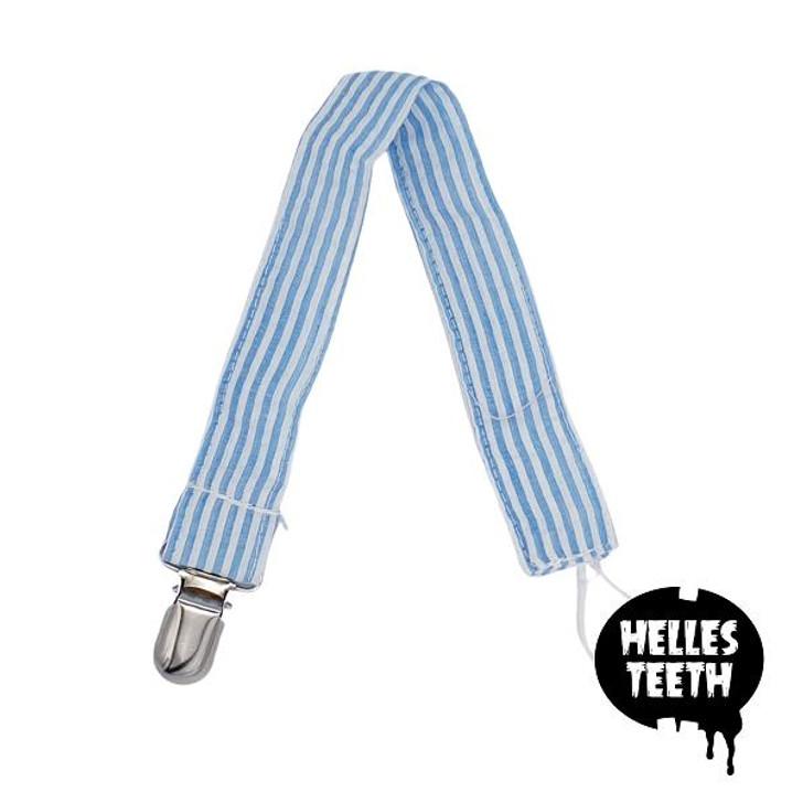 Helles Teeth Teether Holder Strap - Blue