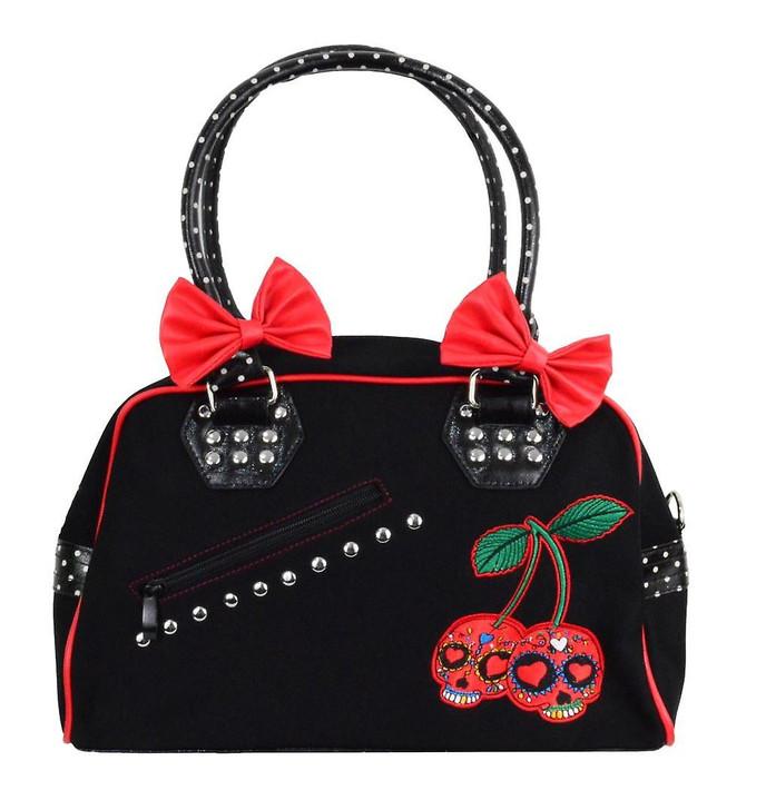 Banned Apparel Cherry Skulls Bag