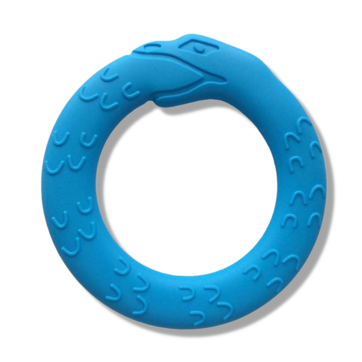 JÖrmungandr   Midgard Serpent Teether - Fjord Blue