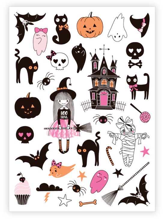 Witchy Things Temporary Tattoo Set