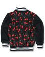 Six Bunnies Cherries Varsity Jacket - back