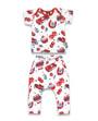 Six Bunnies Hot Rod Cherry Baby Pyjamas