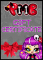 Punk My Babe Gift Voucher - $20, $50, $100, $150