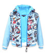 Six Bunnies Tattoo Shoppe Kids Hooded Jacket  - open