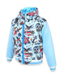 Six Bunnies Tattoo Shoppe Kids Hooded Jacket - front