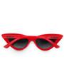 Six Bunnies Girls Red Cat Eye Sunglasses - back