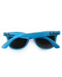 Six Bunnies Unisex Kids Wayfarer Blue Sunglasses - back