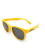 Six Bunnies Unisex Kids Wayfarer Yellow Sunglasses - side