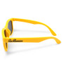 Six Bunnies Unisex Kids Wayfarer Yellow Sunglasses- arms