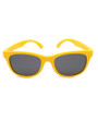 Six Bunnies Unisex Kids Wayfarer Yellow Sunglasses- front