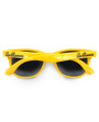 Six Bunnies Unisex Kids Wayfarer Yellow Sunglasses- back