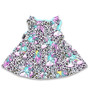 Six Bunnies Unicorn Party Set - Dress, Bloomers & Headband