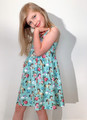 Six Bunnies Unicorn Wonderland Babydoll Dress