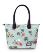 Six Bunnies Paradise Nappy Bag or Tote Bag