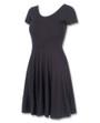 Liquorbrand Black Rockabilly Skater Dress