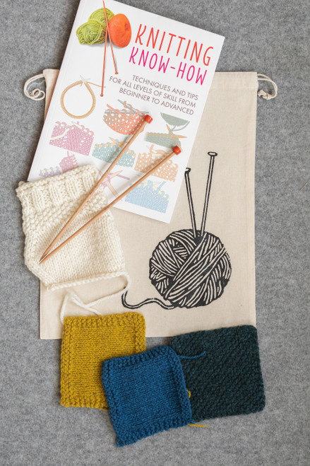 Learn To Knit One