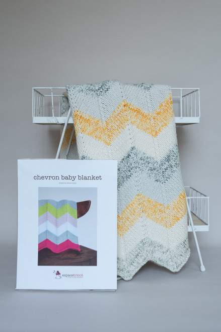 Chevron Baby Blanket Kit
