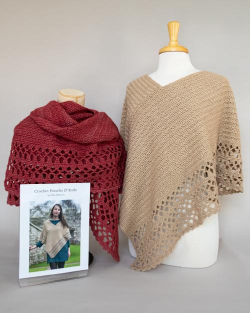 Luma Crochet Poncho and Stole Kit