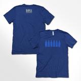 Soft Heather Navy Bottle Lineup Shirt