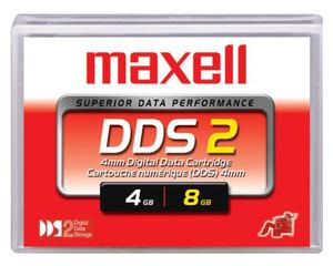 Maxell 4mm DDS-2 120 Meter 4/8GB Data Tape Cartridge - 200110