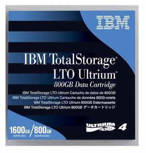 IBM LTO-4 95P4436 Ultrium-4 Data Tape Cartridge (800GB/1.6TB)