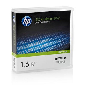 HP LTO Ultrium 4 Data Cartridge  - 800GB / 1.6TB - C7974A