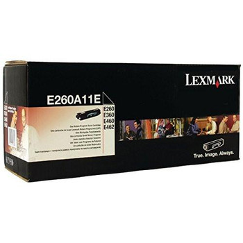 Genuine Lexmark Brand E260A11A Black Toner Cartridge