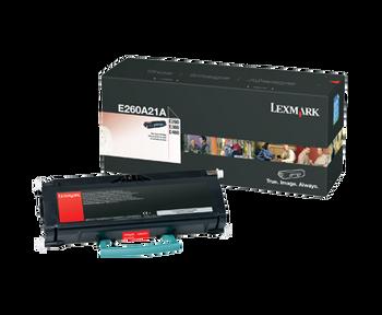 Genuine Lexmark Brand E260A21A E260/360/460 Toner Black