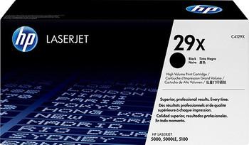 Genuine HP Brand 29X C4129X Black High-Yield  Toner Cartridge