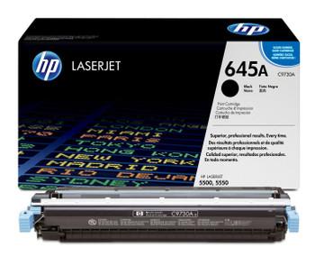 Genuine HP Brand 645A C9730A Black Toner Cartridge