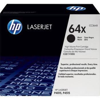 Genuine HP Brand 64X Black High-Yield Toner Cartridge CC364X
