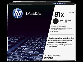 Genuine HP Brand 81X CF281X Black LaserJet Toner Cartridge